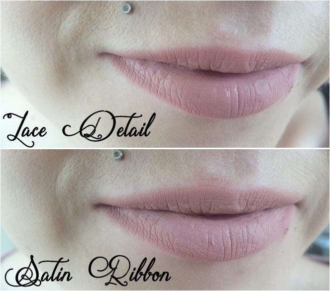 lace detail saton ribbon nyx lip lingerie