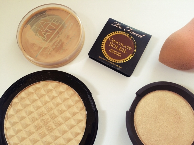 rimmel super stay makeup revolution pro illuminate becca opal too faced chocolate soleil.JPG