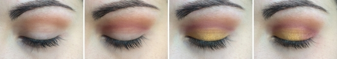 tuto makeup sunset monday shadow challenge turquoise 1