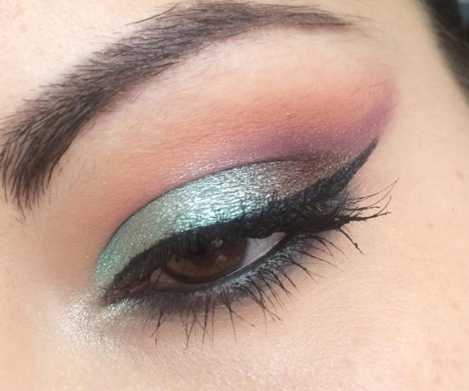 makeup vert d'eau mermaid.JPG