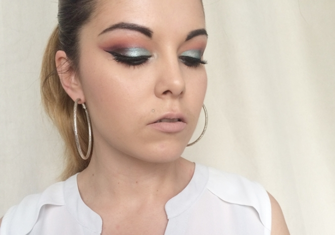 makeup vert d'eau monday shadow challenge.JPG