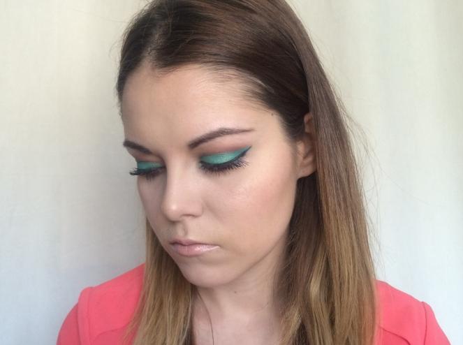 makeup vert emeraude passion beleza.JPG