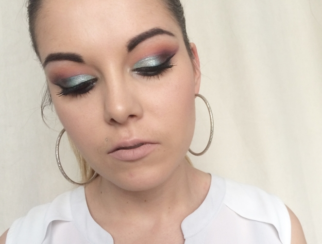 monday shadow challenge makeup vert d'eau.JPG