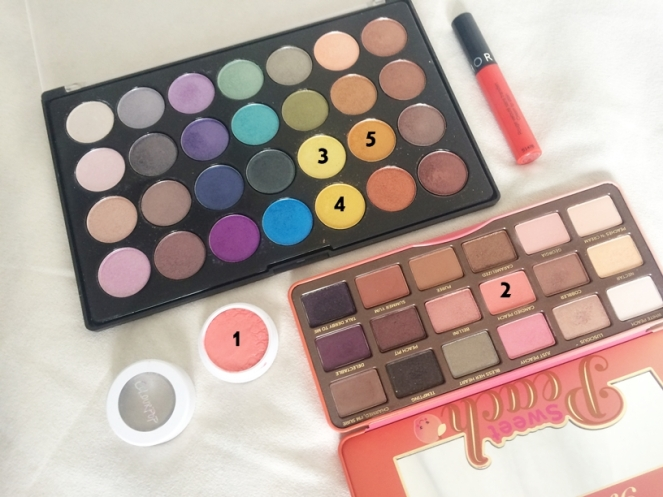 palette bh cosmetics foil eyes sweet peach colourpop animal.JPG