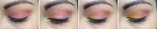 tuto summer 1 makeup monday shadow challenge