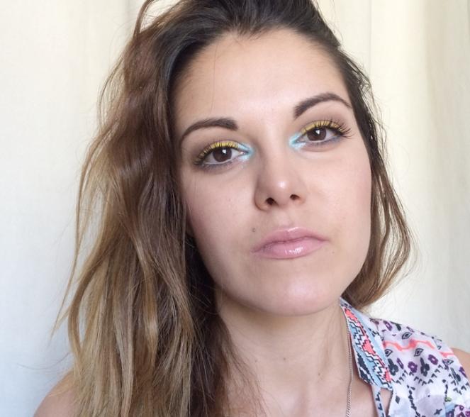 look makeup summer