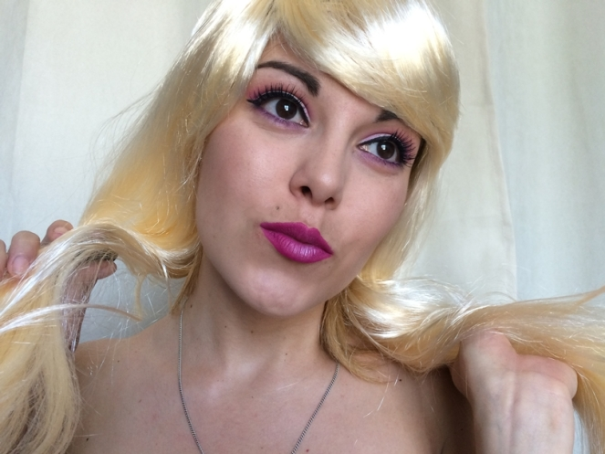 makeup monday shadow challenge barbie rose fuchsia.JPG
