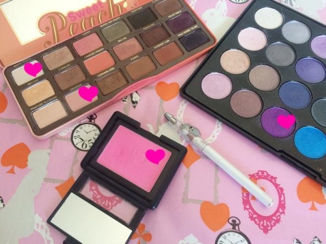 sweet peach too faced blush pink passion elf foil eyes bh cosmetics.JPG