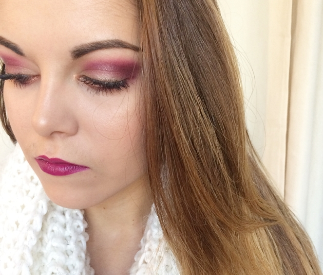 makeup-pourpre-vintage-rose-modelsown-wet-n-wild-sugar-plum-fary