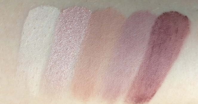 carly bybel palette bh cosmetics swatches.JPG