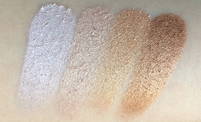 highlighters carli bybel palette swatches bh cosmetics.JPG