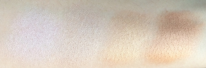 swatches-highlighters-carli-bybel-bh-cosmetics