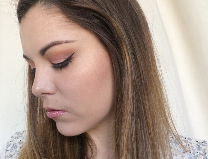 rose gold makeup monday shadow challenge.JPG